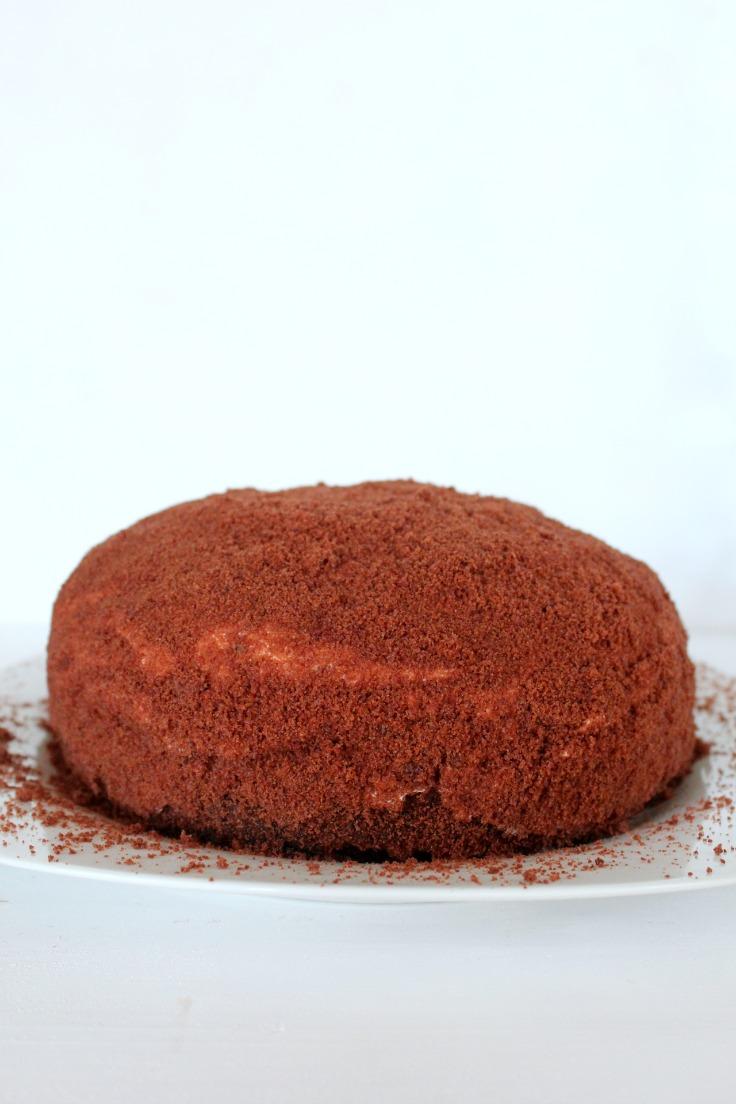 Banana Dome Cake Recipe