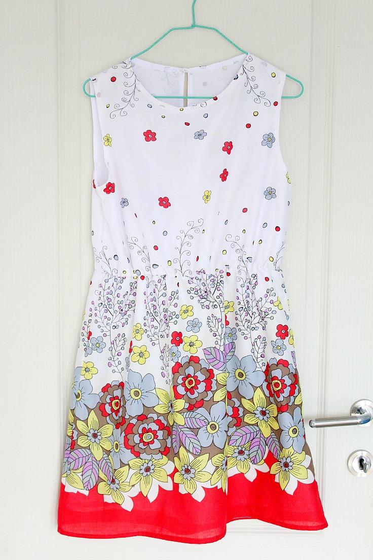 gathered waist dress pattern