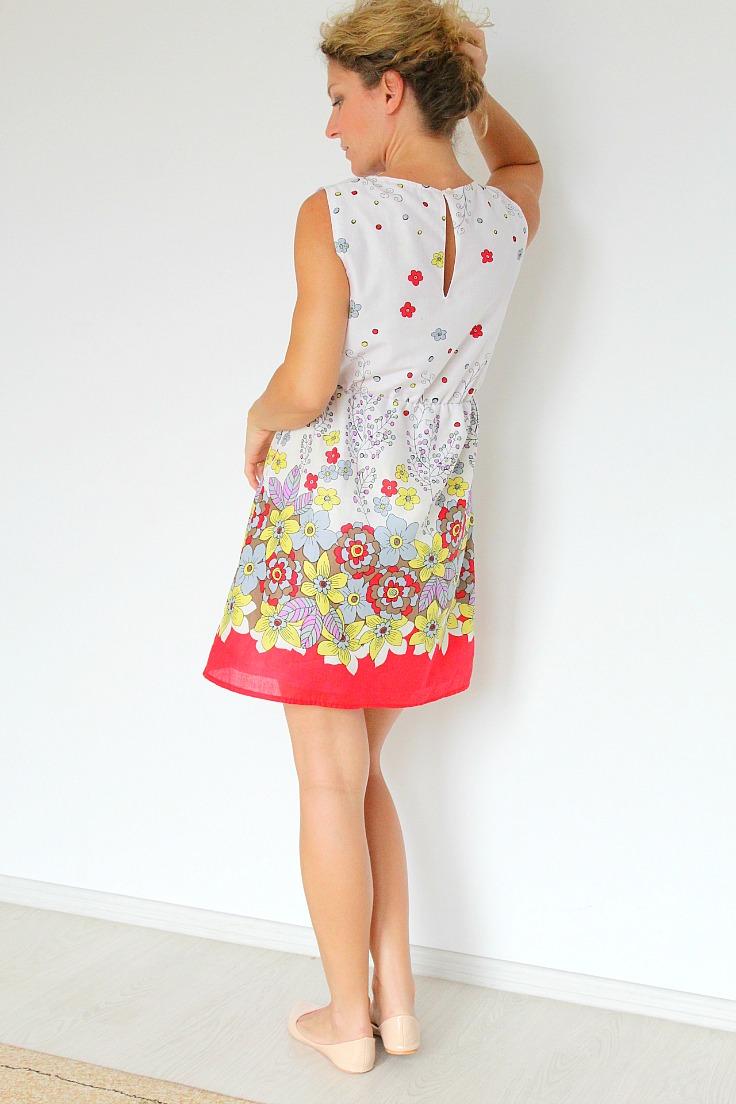 Womens summer dress pattern