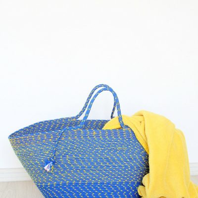 How To Sew A Rope Bag