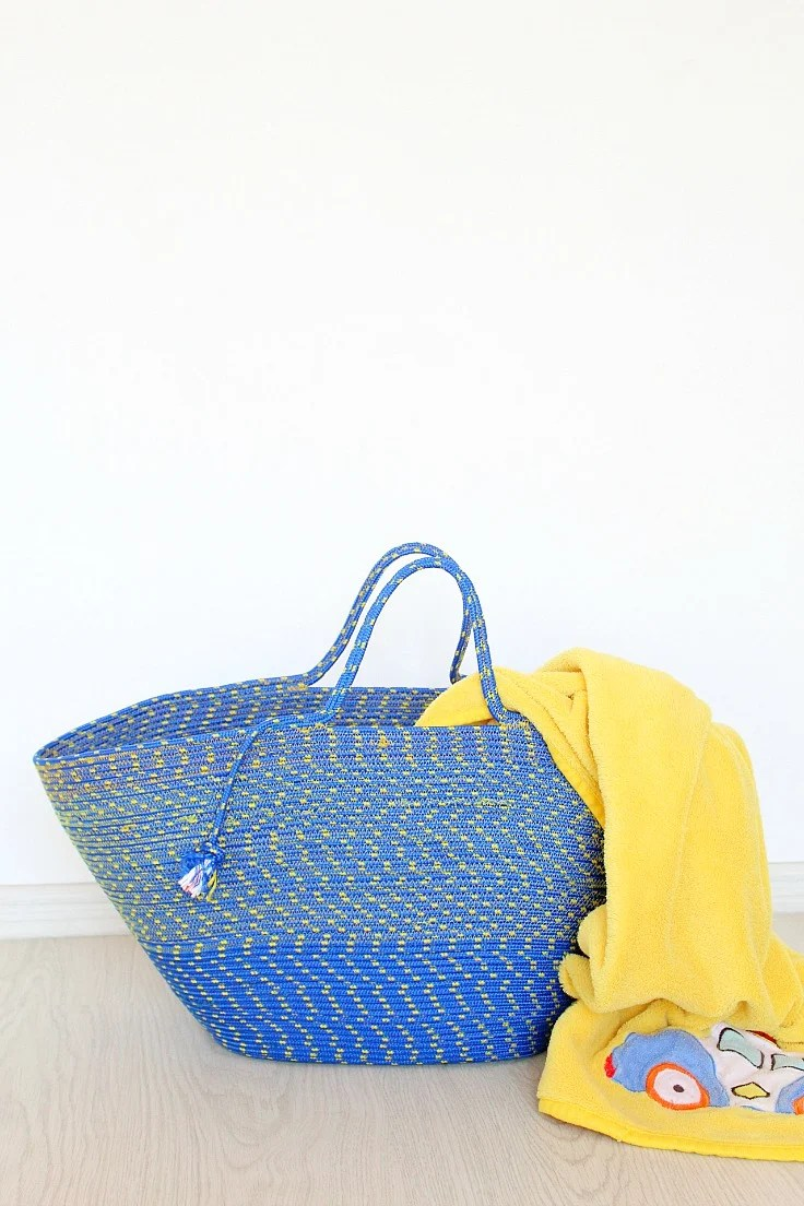 How to make a rope bag