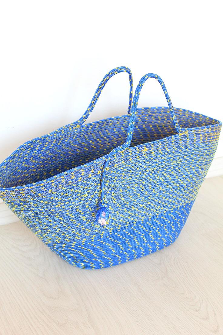 Rope bag pattern