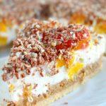 Peach Raspberry Cheesecake Recipe