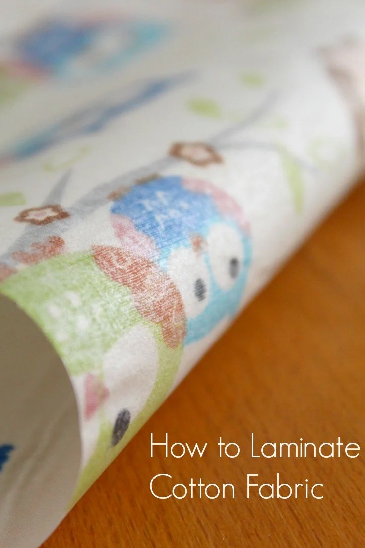 How to laminate cotton fabric