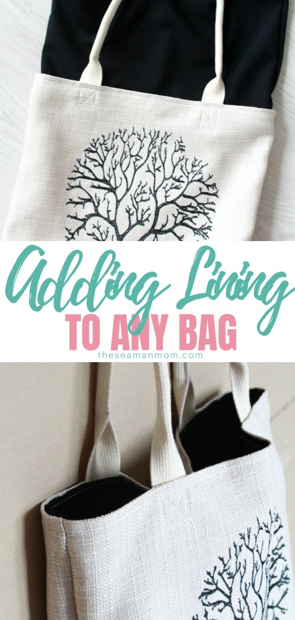 There are various ways for lining a bag! In this sewing tutorials you'll learn how to line a bag using the simplest method that works for almost any style of purse! Bag lining has never been easier! via @petroneagu