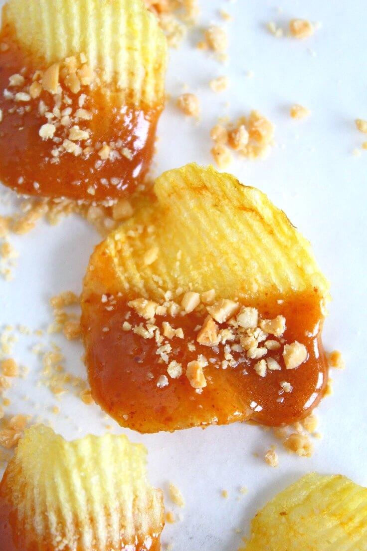 salted caramel chips