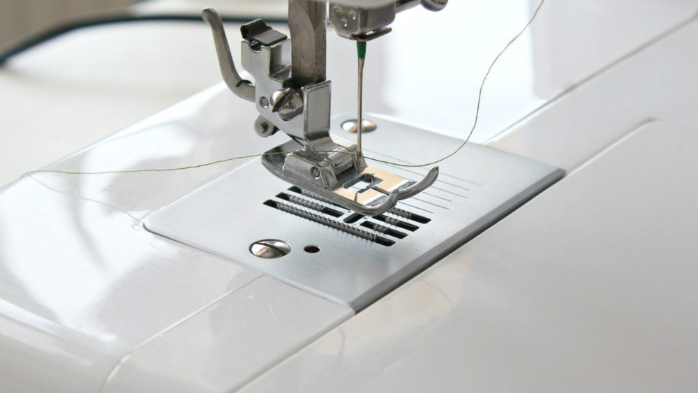 How to Change the Presser Foot Tension on a Sewing Machine