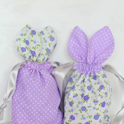 Bunny Treat Bag Sewing Tutorial