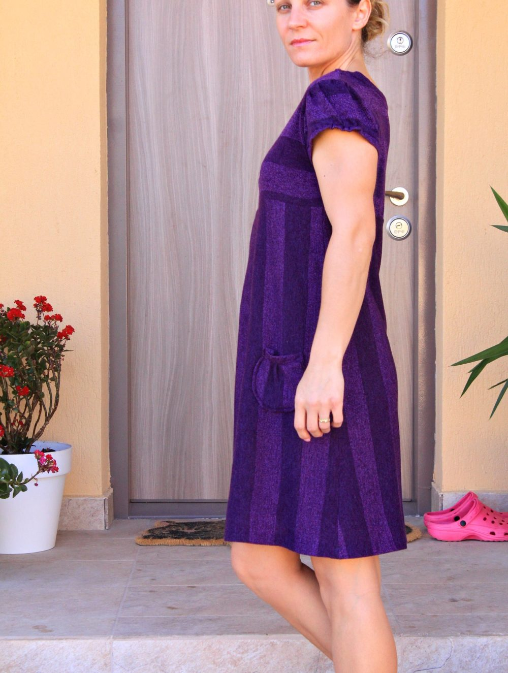 Easy Knit Dress pattern