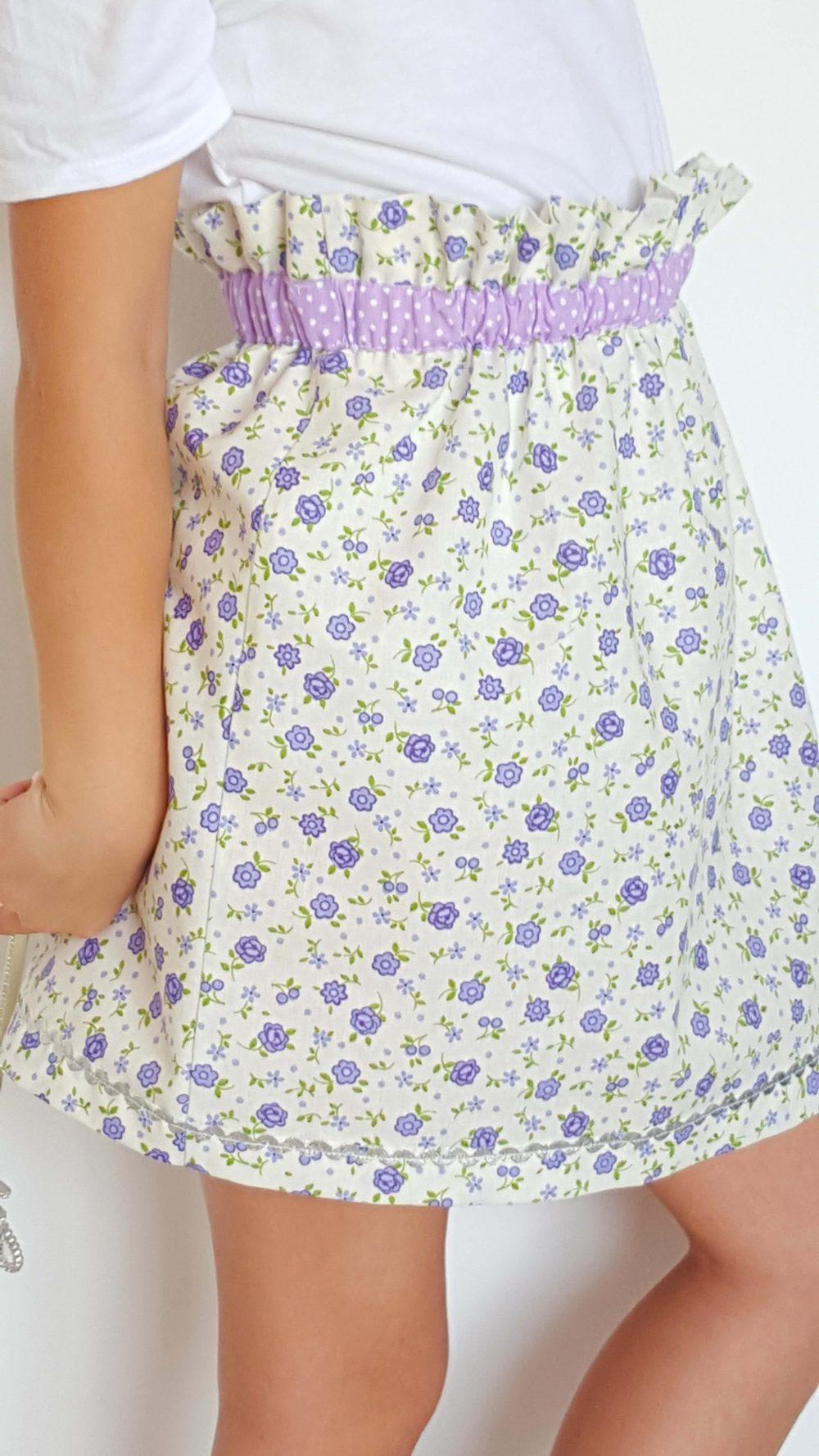 paper bag waist skirt