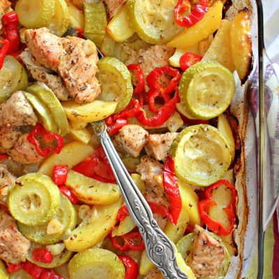 Sweet And Spicy Turkey Breast With Vegetables