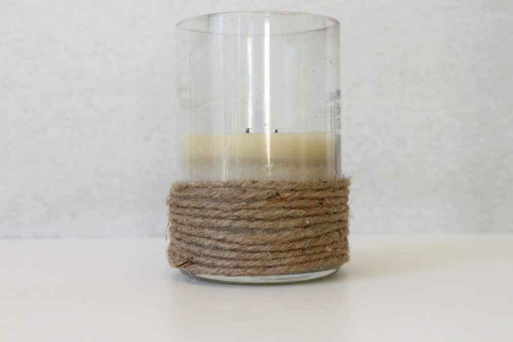 how to decorate candle holders