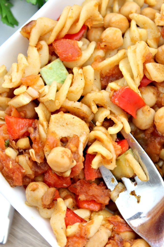 how to make chickpea pasta