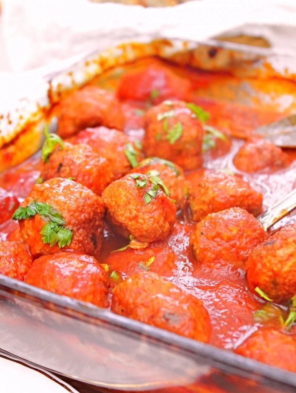 beef meatballs in sauce