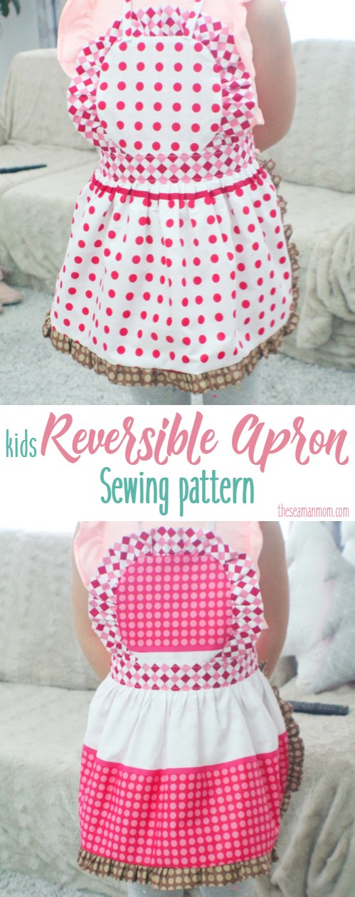 Kids apron pattern