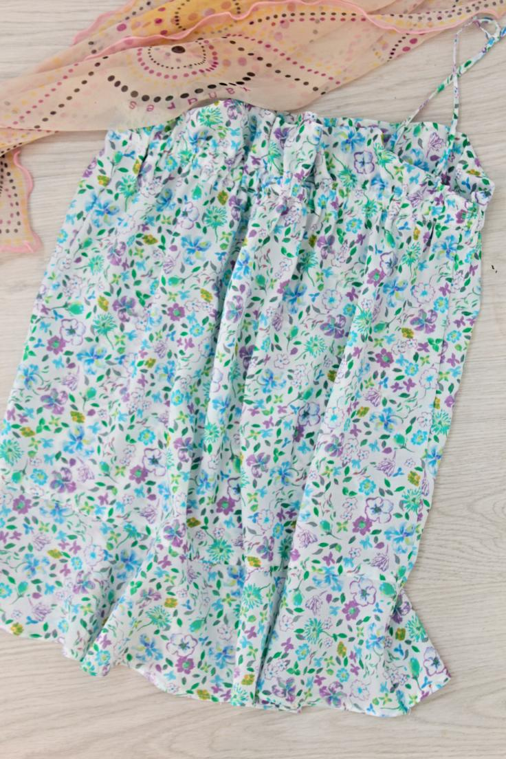 Gathered camisole pattern