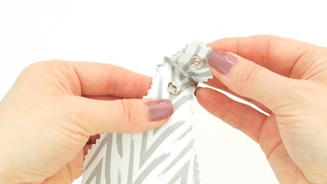 Snap fastener installation