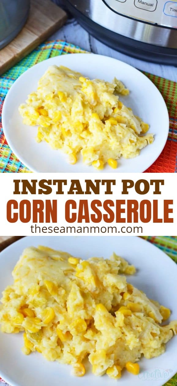 Have you been looking for a delicious, simple and crazy easy side dish to add to a special occasion you have coming up? This Instant Pot corn casserole is about the easiest and fuss free you can get! via @petroneagu