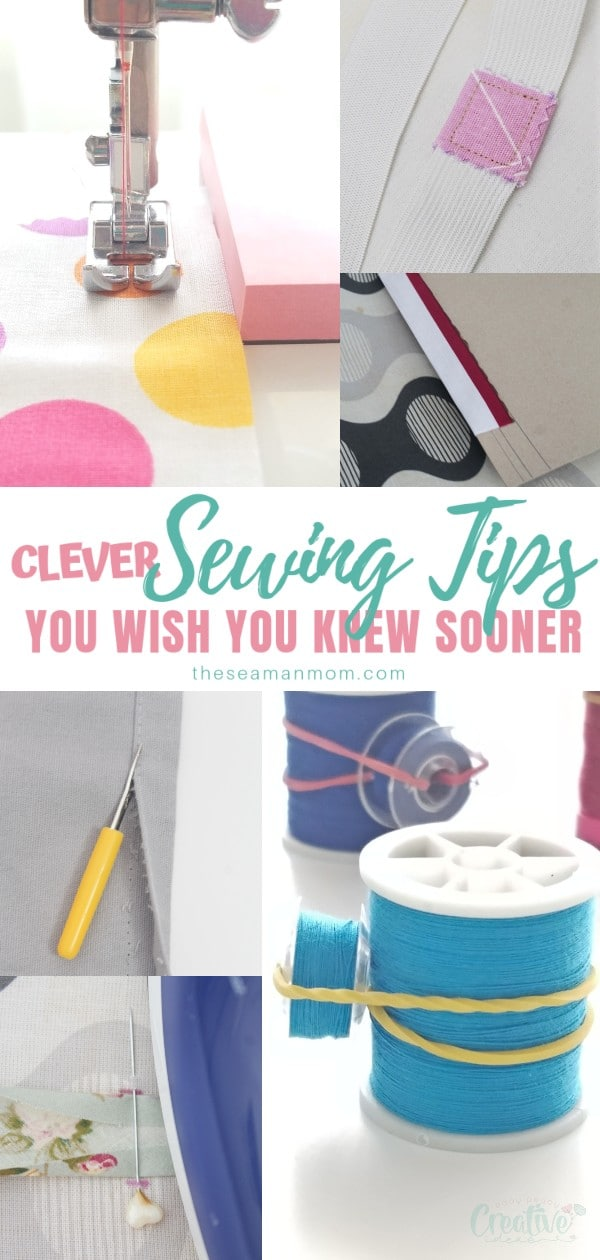 Wondering how to make sewing easier? Check out this list of ingenious sewing tips that will help make your sewing experience a lot more easier and efficient! From sewing tips for beginners to sewing tricks even experienced sewists never heard of, this awesome list is full of clever sewing hacks you wish you knew sooner! via @petroneagu
