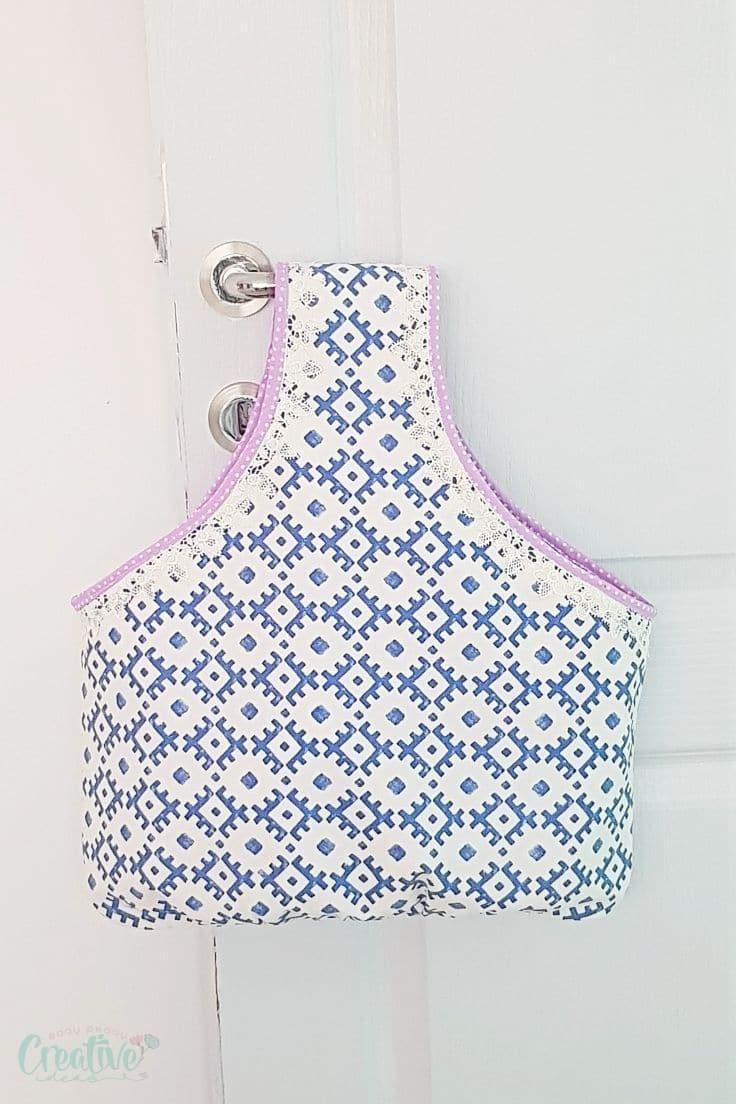 Reversible shopping bag pattern