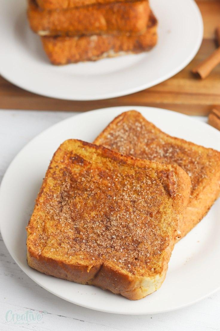 Pumpkin french toast recipe
