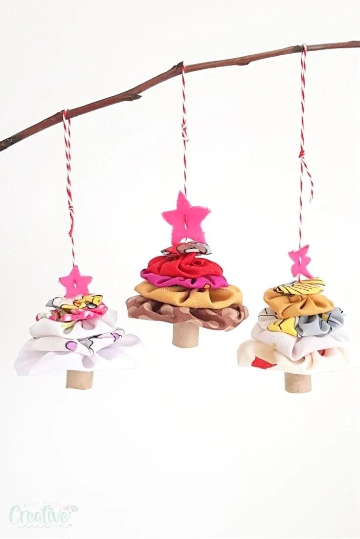 Yoyo Christmas ornaments