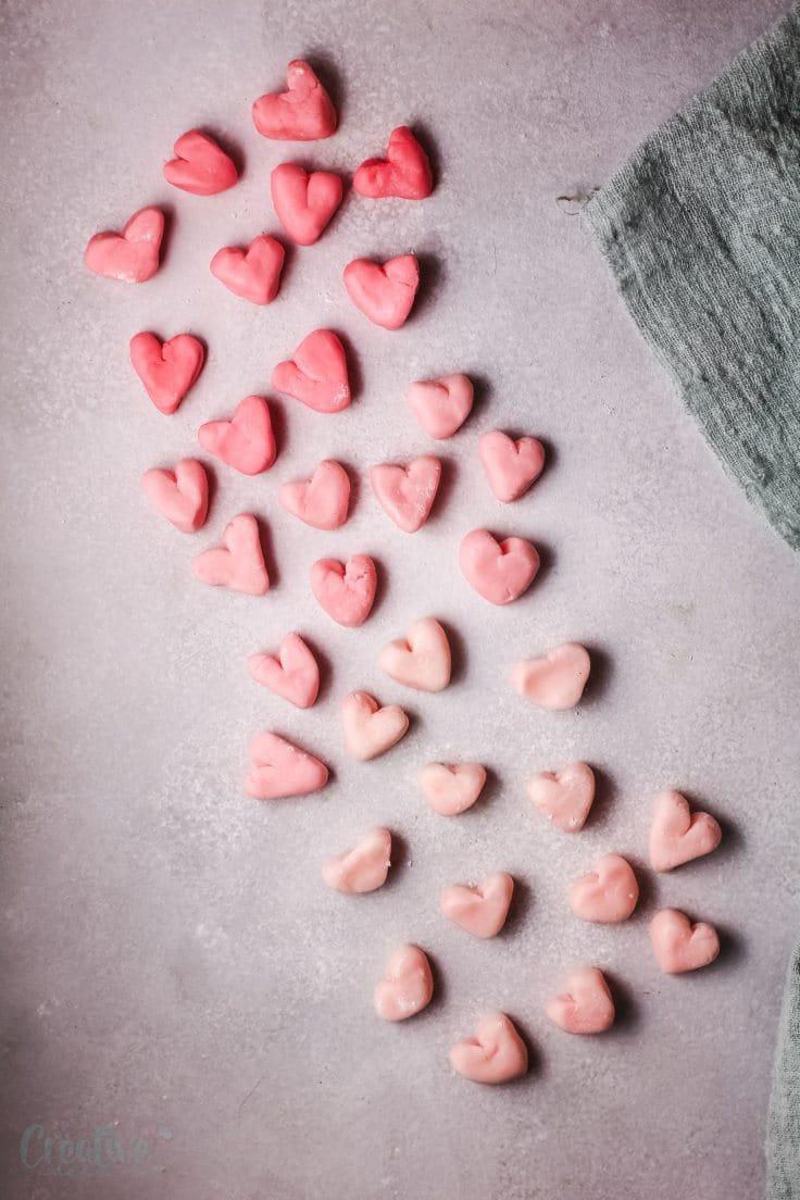 Heart mints