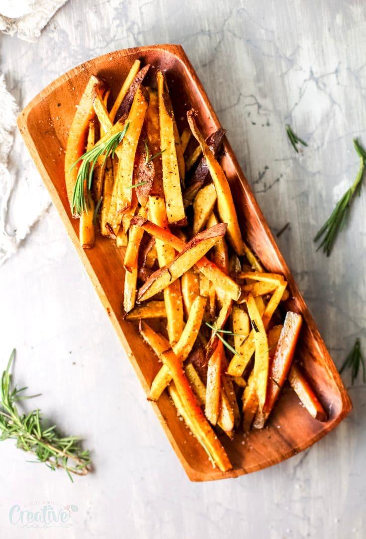 Rosemary sweet potatoes