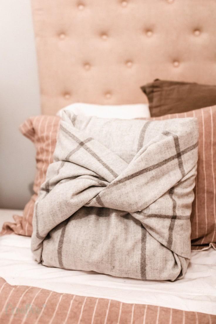 No sew pillowcase
