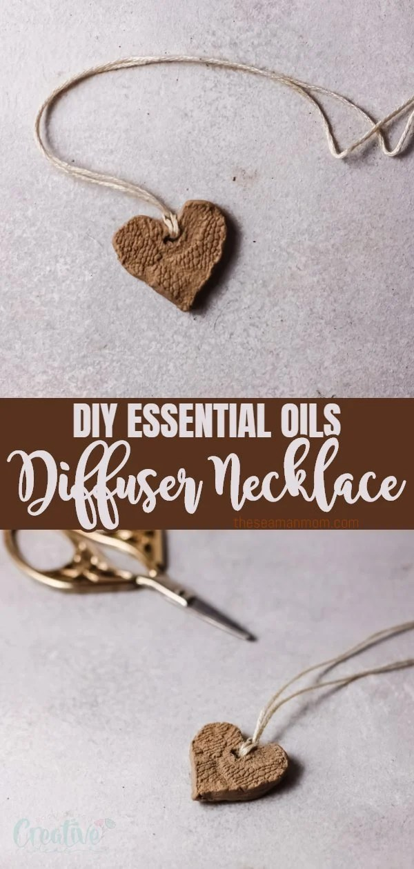 This is an easy tutorial to make your own oil diffuser necklace using only a piece of clay! With this simple diffuser necklace DIY you'll get a new necklace that can work as a diffuser in no time and with almost no materials! via @petroneagu