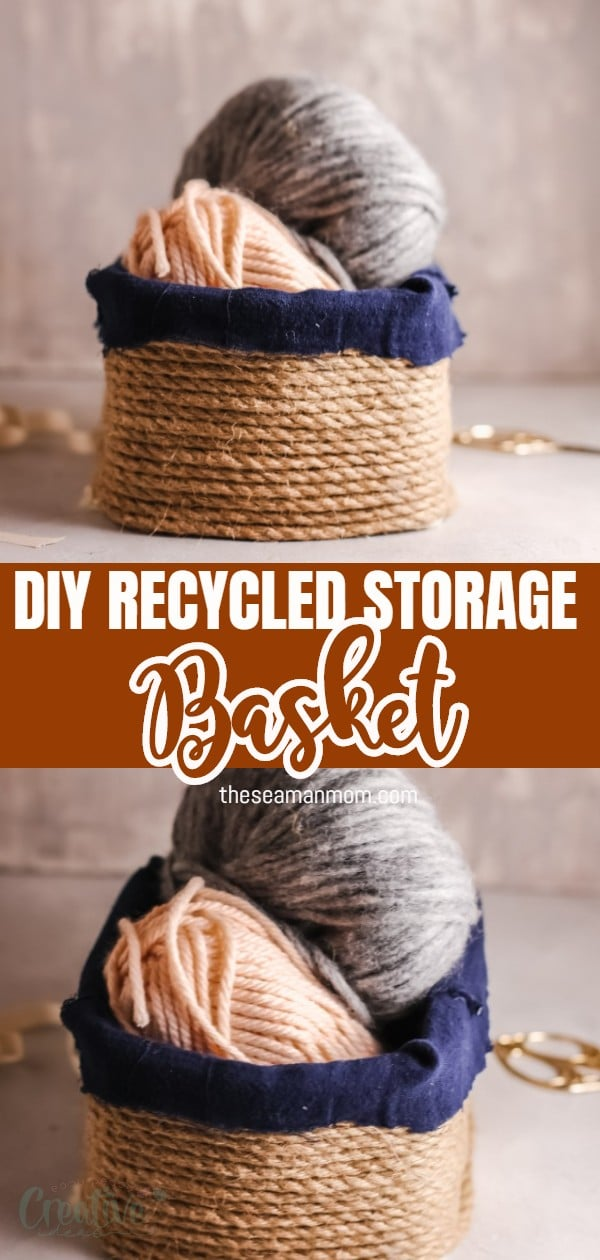 What if I tell you you can upcycle almost any box into a beautiful DIY rope basket? Yes, this is totally true and you don't need to be a pro at crafting, just a couple of really simple materials and a bit of time. via @petroneagu