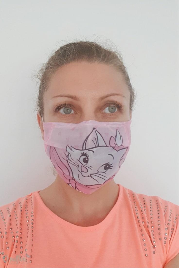 Fabric face mask pattern