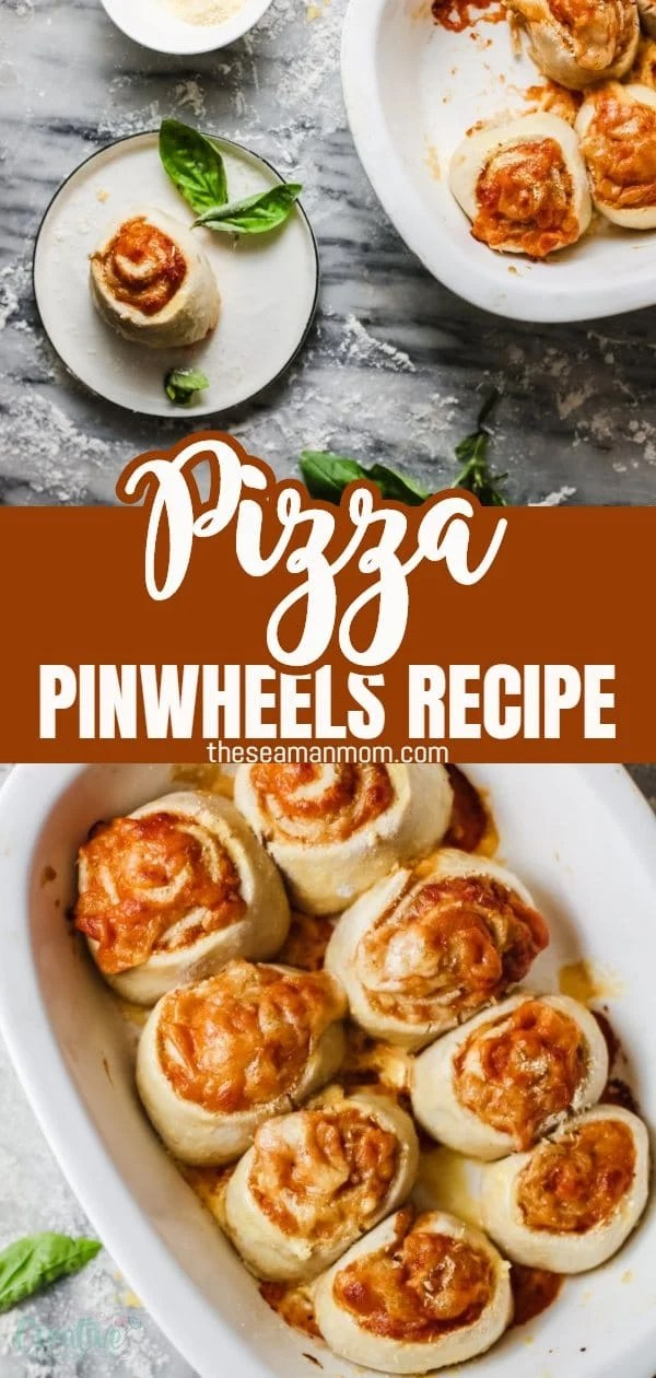 Pizza pinwheels recipe