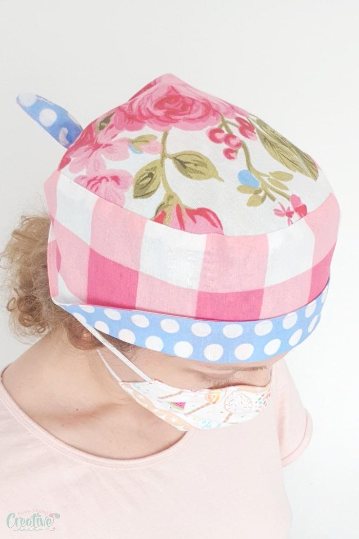 How to make a scrub cap