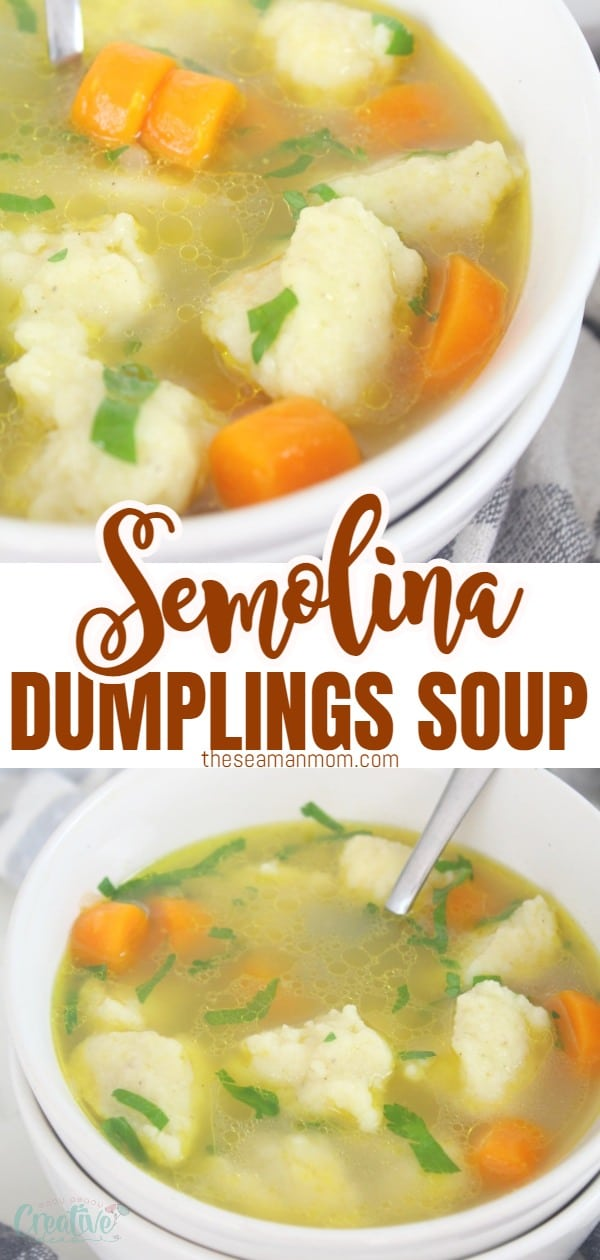 Semolina dumplings soup is very famous in Austrian and Bavarian restaurants and is a popular dish throughout all the areas once inhabited by people of German origin. These delicious dumplings are super quick and easy to make and taste amazing! I'm going to show you how to make this delicious dumplings soup to serve as an entrée or as a delicious hot dinner in winter months. via @petroneagu