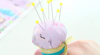 Finger pin cushion