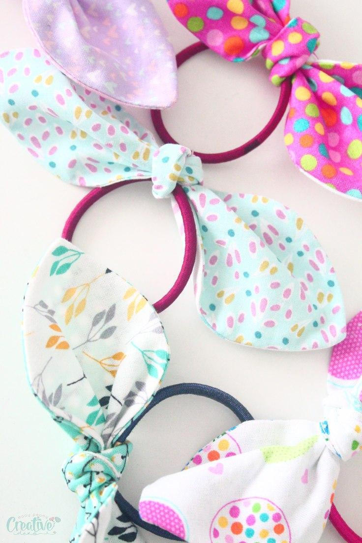 Hair tie bows