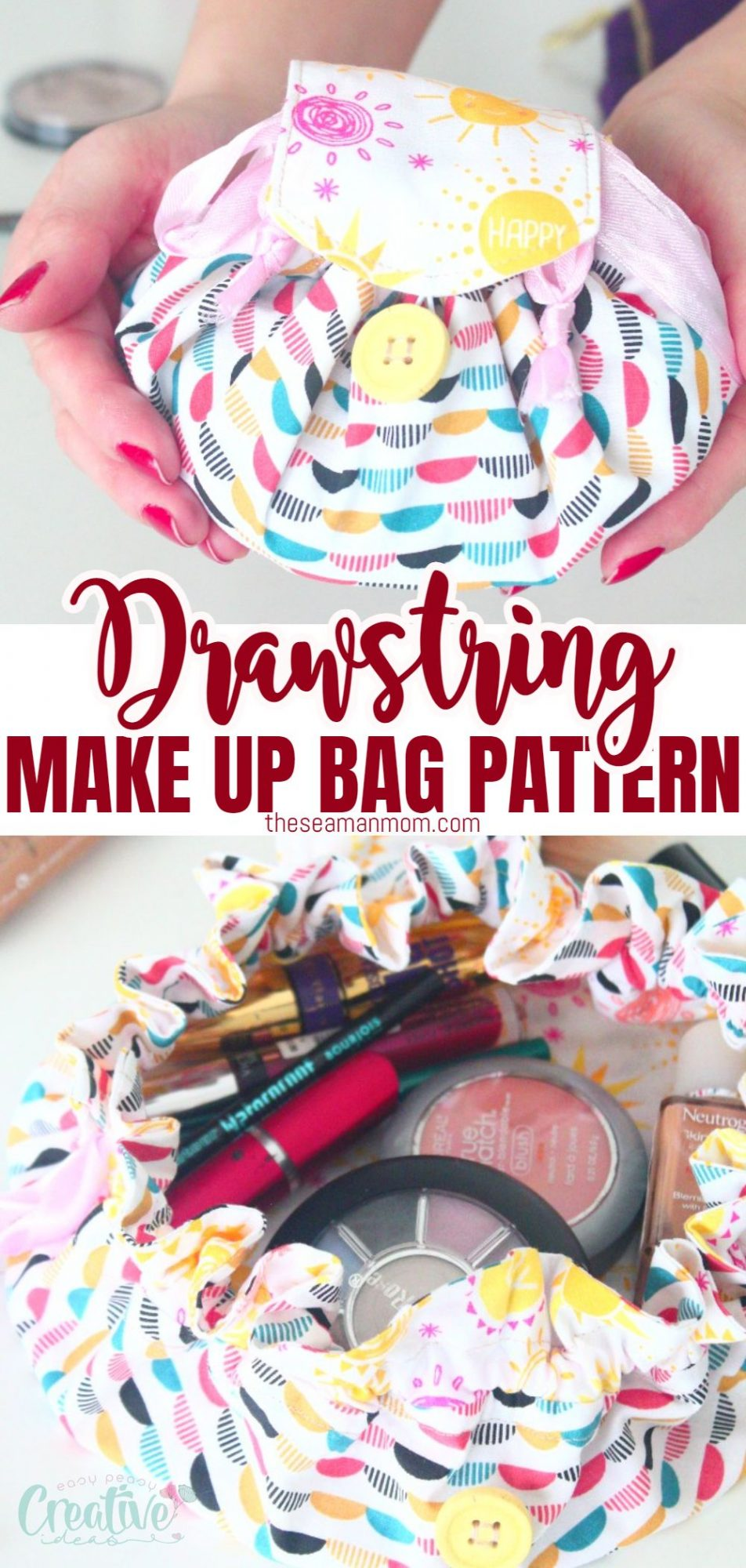 Makeup bag pattern