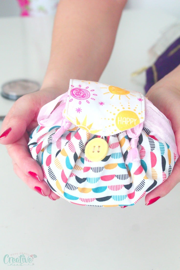 Makeup bag sewing pattern