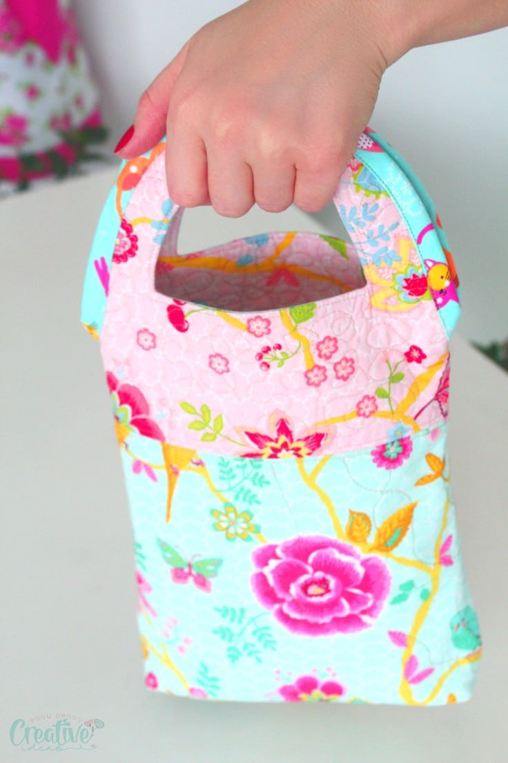 Quilted purse pattern