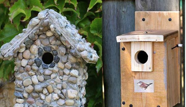 Wooden Bird Houses Build
