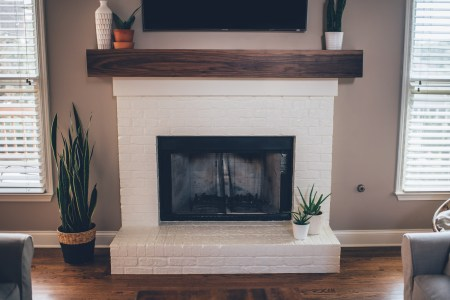 Lovely Two Way Fireplace