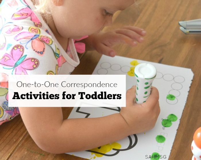 One to One Correspondence Activities for Toddlers   The Stay at Home     One to one correspondence activities for toddlers  Teach toddlers to count  and identify