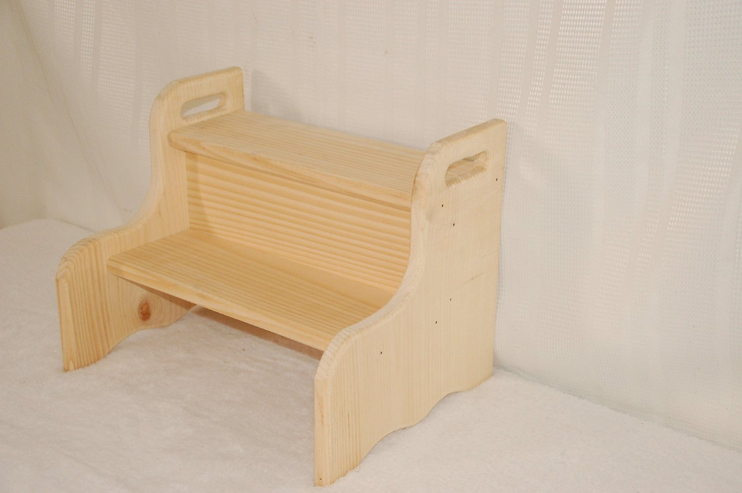 Unfinished Wooden Step Stool For Kids Thesteppingstool Com