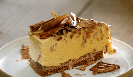 Jamie Oliver Frozen Banoffee Cheesecake With Chocolate