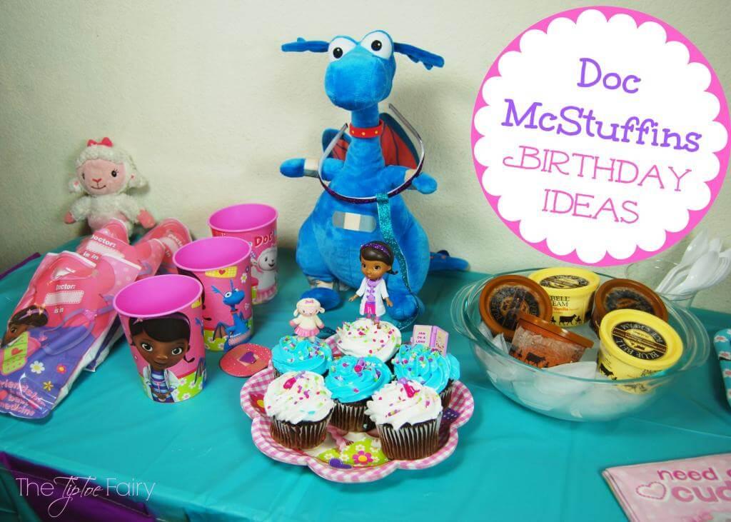 Disney Junior Doc Mcstuffins Birthday Party Ideas The