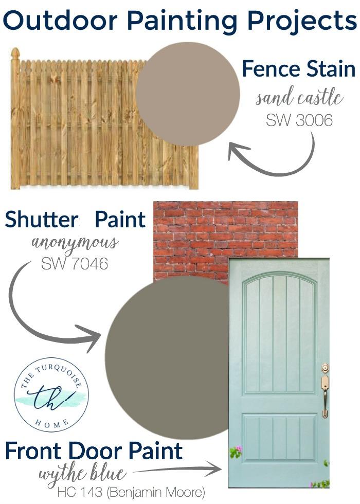Paint Color House Outside Ideas