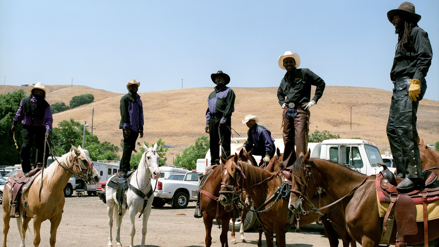Ranch Cowgirls And Their Horses