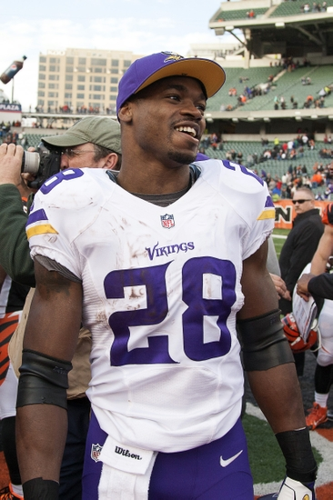 Bengals Player Adrian Peterson Trucking