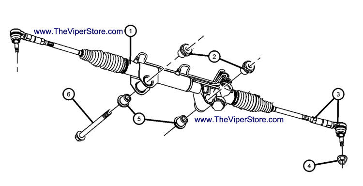 Dodge Dakota Rack And Pinion Diagram